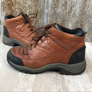 ARIAT Terrain Pro Insulated Leather Work Boots 6.5